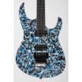 Электрогитара Lepsky F-Model PS Limited Edition Blue Ragprint (PS161107F)