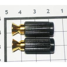 Опоры тремоло со вставкой Schaller Золото (2 шт)